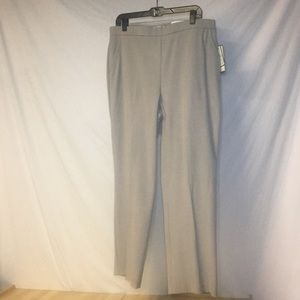NWT Dana Buchman Heather Rock Slacks